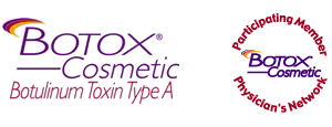 Botox Seal & Cosmetic Logo